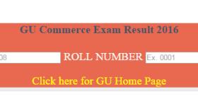 Guwahati University Declares BA/B.Sc/B.Com 3rd Semester 2016 Result